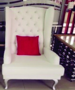 Bridal Chairs Supplier Botswana